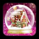 圣诞音乐水晶球动态壁纸