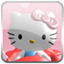 3D Hello Kitty 锁屏