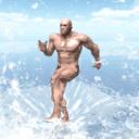 海上的肌肉