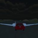 飞行汽车三维:山之夜