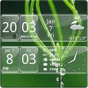 Android 数字时钟部件