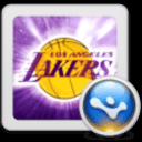 NBA主题桌面之湖人(桌面主题美化锁屏软件)