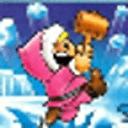 企鹅敲冰块