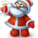 Santa Claus Battery Widget