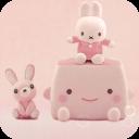 萌の兔动态壁纸