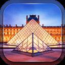 巴黎的卢浮宫