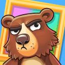 笨熊大战名画