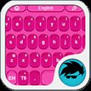 粉红色的键盘个性化