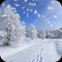 冬季雪景动态壁纸