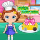 一起制作蛋糕