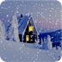 唯美飘雪动态壁纸