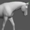3D马姿势工具:Horse
