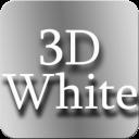 3D白色图标包:3D