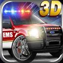 3D应急救援车队
