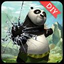熊猫人之谜主题(锁屏桌面壁纸)
