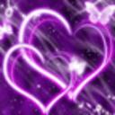 心中的紫蝴蝶动态壁纸