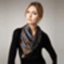 丝巾披肩围巾系法