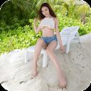 沙滩与美女-宝软3D主题