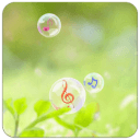 音乐泡泡主题(桌面锁屏壁纸)
