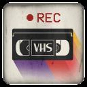传统录像带相机:VHS