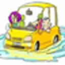 水淹汽车逃生术