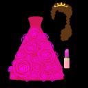 装扮和风格公主