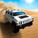 极端的4×4越野车沙漠