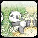 可爱小熊猫-91桌面主题壁纸美化