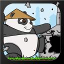 粉碎!动作包装的的2D熊猫建筑物砸乐趣。拉什城堡