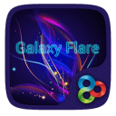 Galaxy Flare GO Launcher Theme