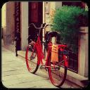 单车恋人主题(桌面锁屏壁纸)