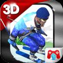 3D滑雪比赛