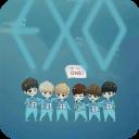 萌神EXO动态锁屏