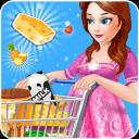 美食购物女孩游戏