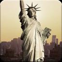 自由女神像-闪电锁屏主题