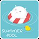GO锁屏夏日泳池