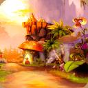 植物乐园-闪电锁屏主题
