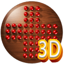 3D Peg Solitaire board game