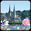 欧洲小镇主题(桌面锁屏壁纸)