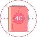 40周胎儿发育图