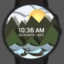 时光水手表盘:Time
