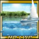 帆船和热带鱼动态壁纸