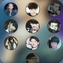 人气组合exo主题锁屏