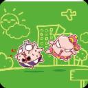 糯米猪四格漫画