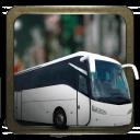 城市公交车,停车场3D