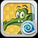 E桌面主题:小鳄鱼爱洗澡