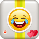 Emoji Stickers Camera: No Crop