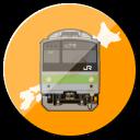 シンプル鉄道マップ 全国版