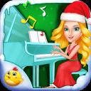 儿童圣诞钢琴比赛
