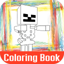 Toy Lego Minecraft Color Book